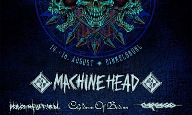 summer breeze - locandina machine head - 2014