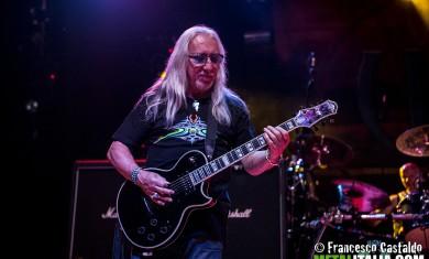 Uriah Heep - Mick Box live Metalitalia.com Festival 2013