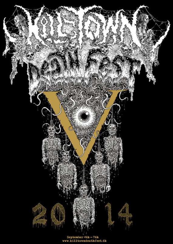 Kill-Town Death Fest - 2014 - flyer