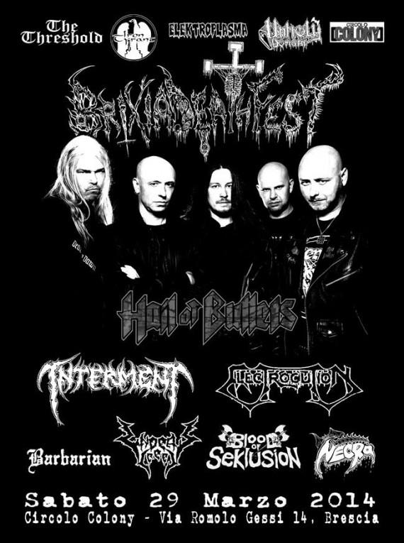 brixia death fest - 2014