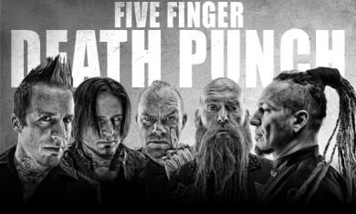 Five Finger Death Punch - band - 2014