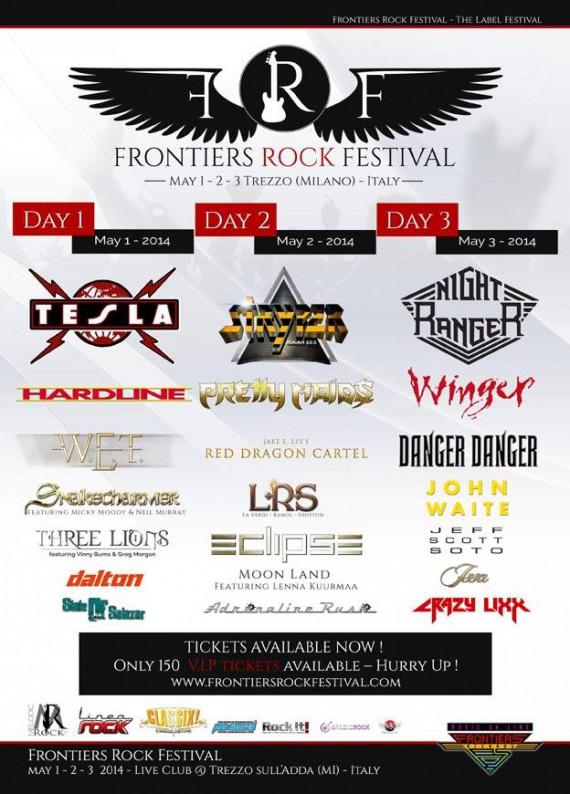 frontiers rock festival - 2014