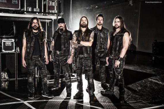 iced earth - band - 2013