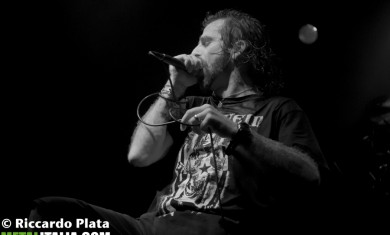 lamb of god - randy blythe live milano - 2014