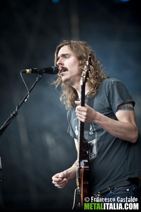 opeth - mikael akerfeldt live milano gods of metal 2012