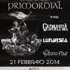 Primordial + Cadaveria + Lunarsea + Shores Of Null
