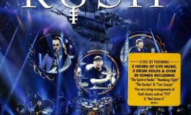 rush - clockwork angels tour cd - 2013