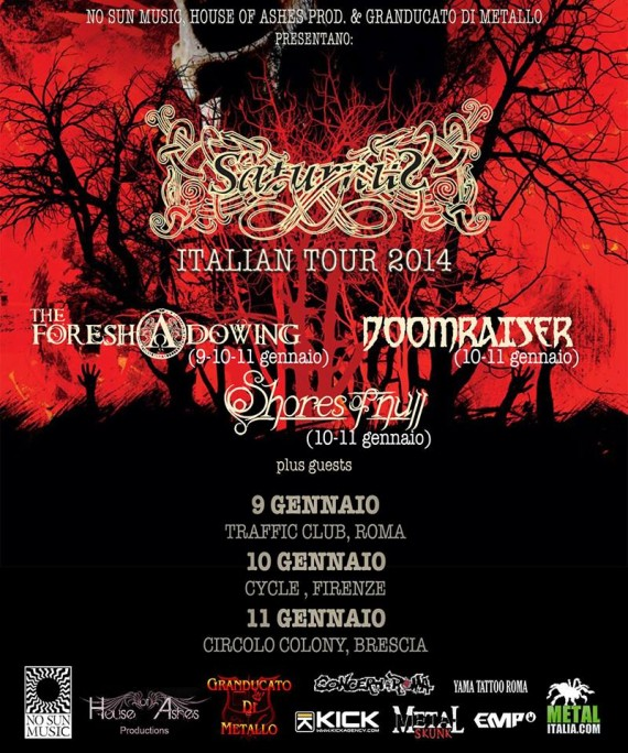 saturnus tour 2014