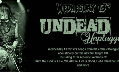 wednesday 13 - unplugged - 2014