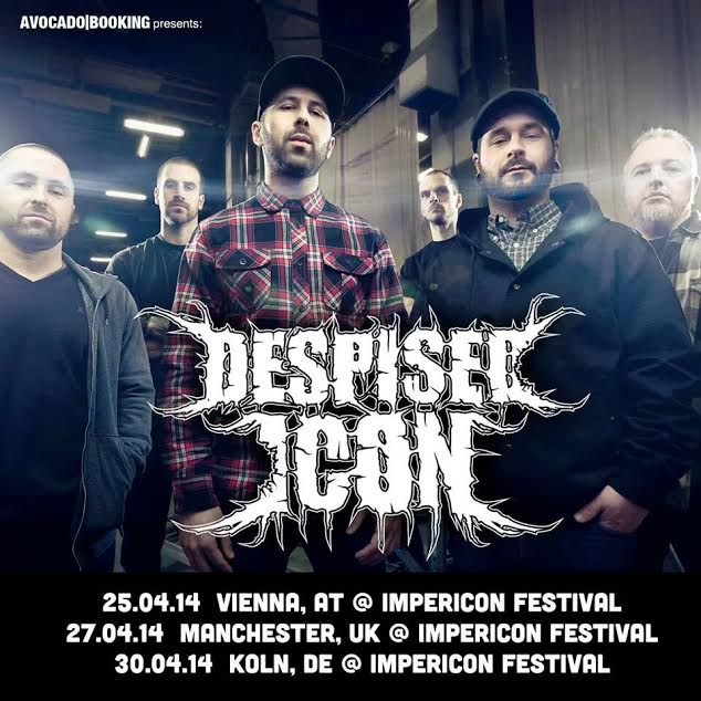 despised icon - reunion shows - 2014