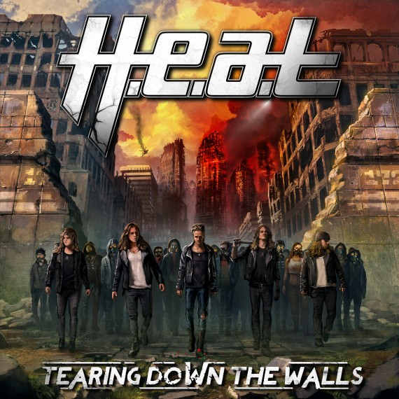 H.e.a.t. - Tearing Down The Walls -  2014