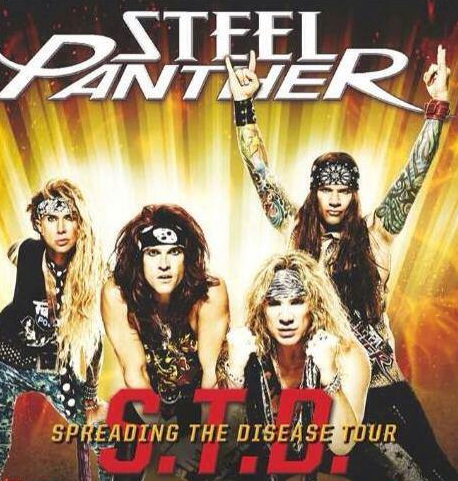 STEEL PANTHER - Tour 2014