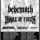 Behemoth + Cradle Of Filth + In Solitude + Inquisition + Svarttjern