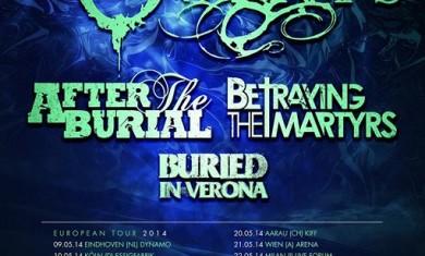 born of osiris - after the burial - tour - 2014