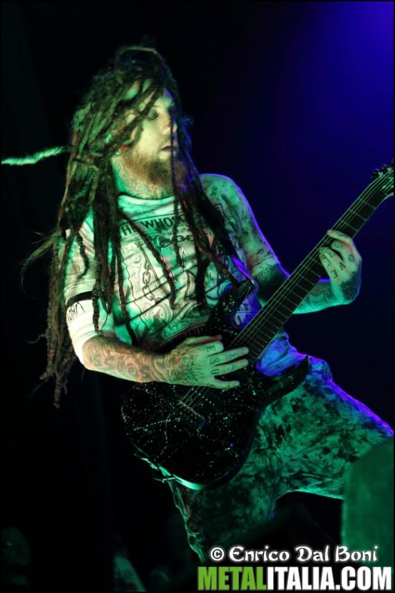 korn - head live padova - 2013