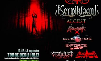metal camp sicily 2014 - locandina