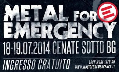 metal for emergency - locandina - 2014