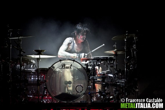 motley crue - tommy lee live gods of metal milano - 2012