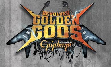revolver golden gods logo