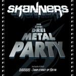 skanners - eins zwei drei metal party - 2014
