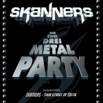 skanners - eins zwei drei metal party - 2014