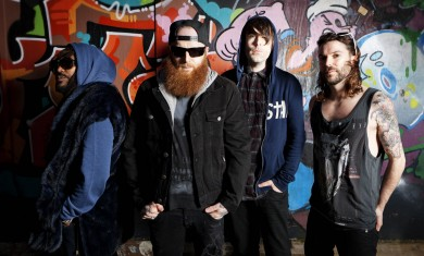 Skindred - band - 2014