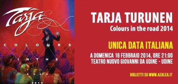 tarja - locandina Udine - 2014