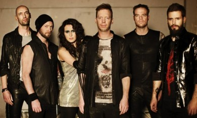 within temptation - band - 2014