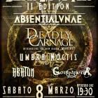 Absentia Lunae + Deadly Carnage + Umbra Noctis + Abaton + Gorganera