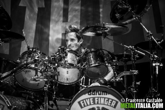 Five Finger Death Punch - Jeremy Spencer - 2013