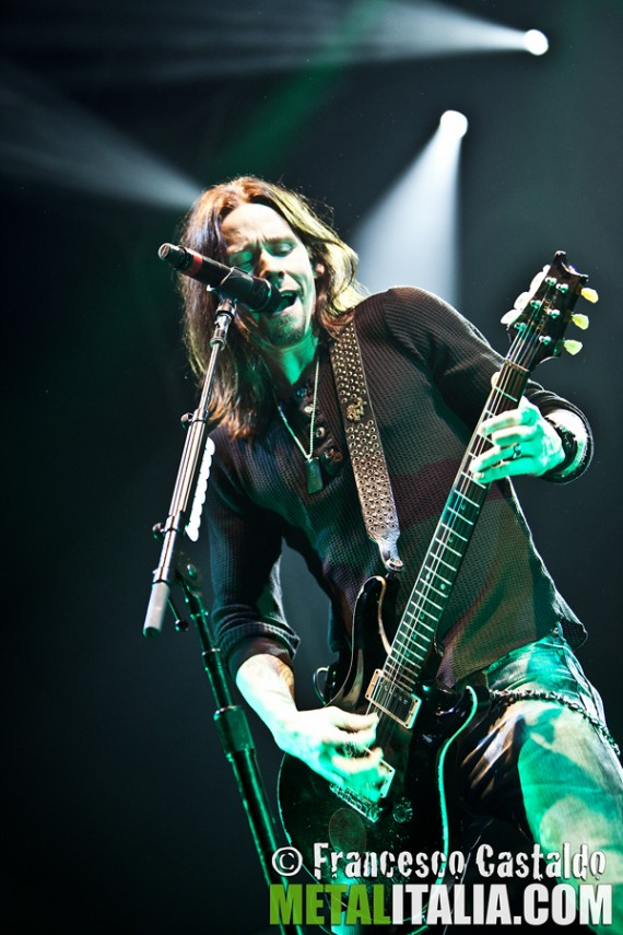 alter bridge - myles kennedy live milano - 2011