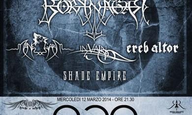 borknagar - manegarm - tour - 2014