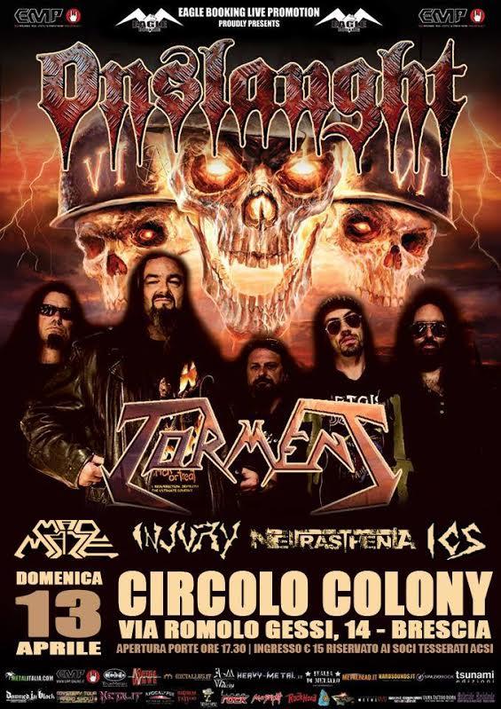 colony thrash fest - locandina - 2014