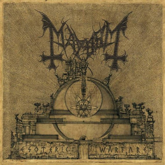 mayhem - Esoteric Warfare - 2014