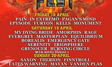 prog power & metal fest - locandina - 2014