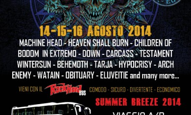 summer breeze bus rock hard - 2014