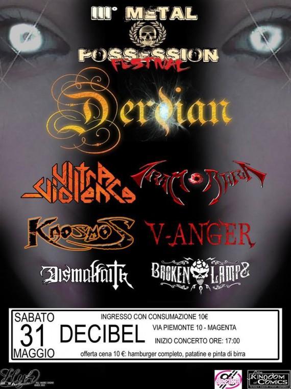 Metal possession 3 - locandina - 2014