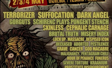 Neurotic Deathfest 2014 - flyer definitivo