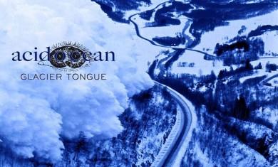 acid ocean - glacier tongue - 2014