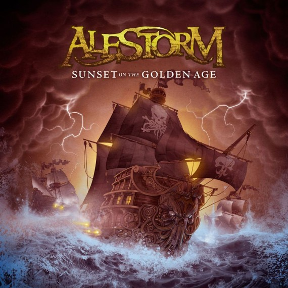 alestorm - Sunset On The Golden Age - 2014
