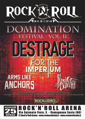 destrage - domination festival vol 2 - 2014
