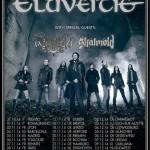 eluveitie arkona skalmold - tour - 2014