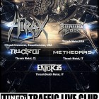 Hirax + Bonded By Blood + Nuclear