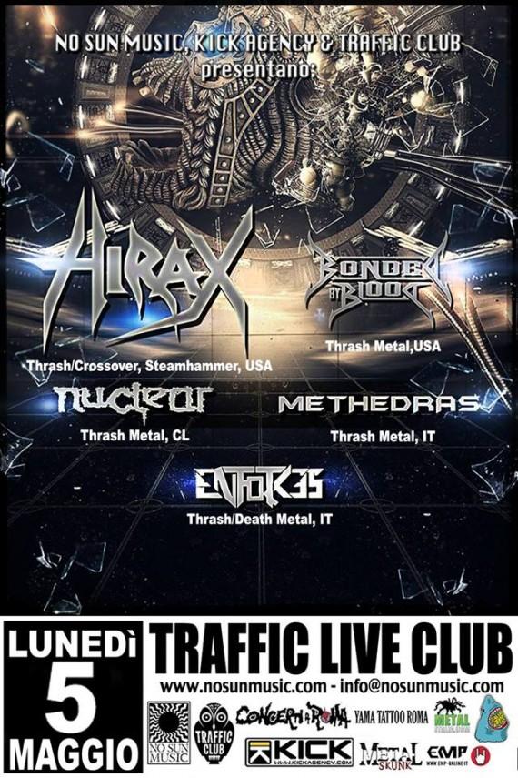 hirax tour roma 2014