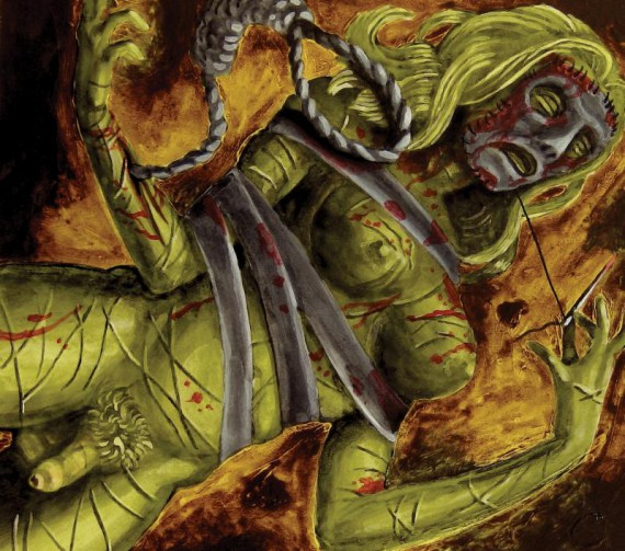 lord mantis - death mask - 2014