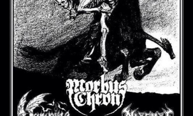 morbus chron - miasmal - vampire - gothenburg locandina 2014