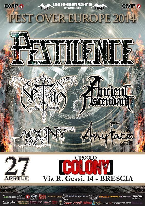 pestilence - locandina brescia 2 - 2014