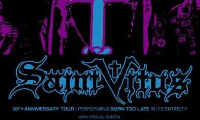 saint vitus - orange goblin - tour 2014