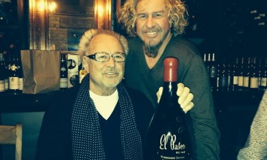 sammy hagar - mick jones - 2014