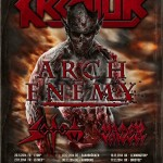 KREATOR, ARCH ENEMY, SODOM, VADER: tour europeo